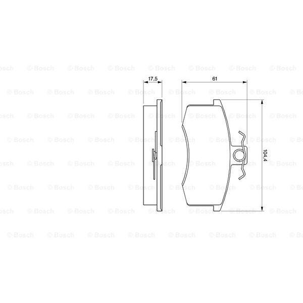 Elementos Filtro Filtro de Aire para Daelim S3 Pieza Original