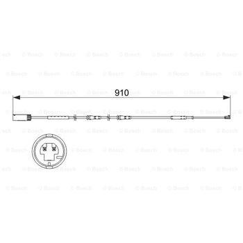 Juego de articulación, árbol de transmisión (1K0 498 099 X) | BGA-CV0101A