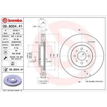 FILTRO AIRE C3/C4/ PICASSO 1.4/1.6I BOSCH-F026400050 - €11,50