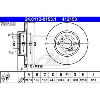 Sonda Lambda FAE 75020