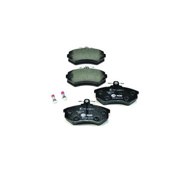 Kit de frenos (discos y pastillas) BREMBO-DP06010