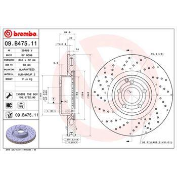 Latiguillo de freno BREMBO-T06001