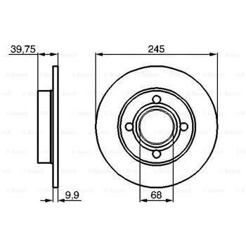 Bujia Bosch 0241225825 (BUJIA SUPER WS9EC ) - €3,14