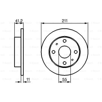 Sensor de presión, servofreno BOSCH 0265005322
