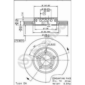 Kit de tornillos CONTITECH MS02