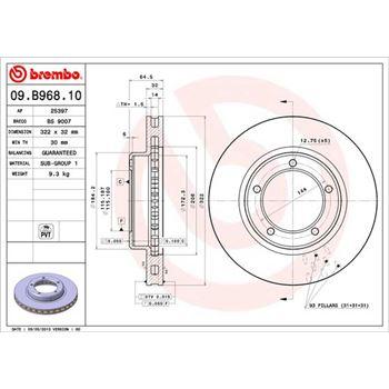 Kit de tornillos CONTITECH MS09