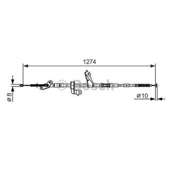 FILTRO COMBUSTIBLE AUDI A8 BOSCH-0450906458 - €58,62