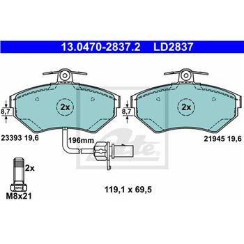 Bateria 80Ah/700A | FORD-1917574