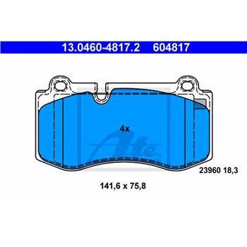 Fusible estándar con conector plano 2A, Gris