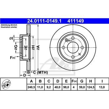Cilindro de freno de rueda   HELLA 8AW355530041