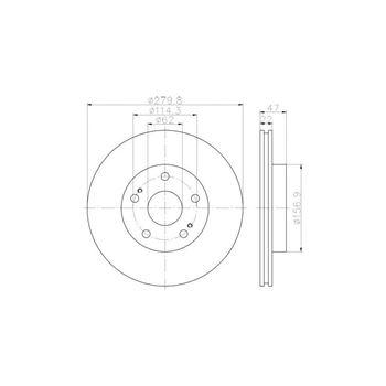 Placa de Matricula HILTEK (ALFA) 340x110 - €14,50