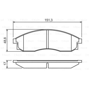 Filtro Jetr½nic BOSCH-0986450115 - €27,41