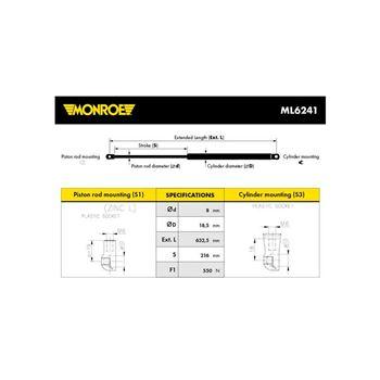 Tubo flexible, ventilación bloque motor | MC 35007