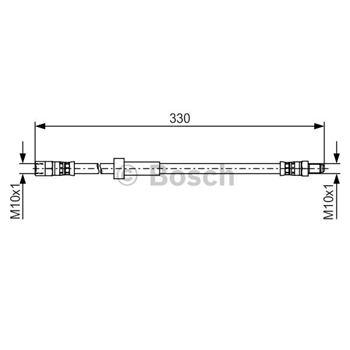 Cilindro receptor, embrague BOSCH 0986486503