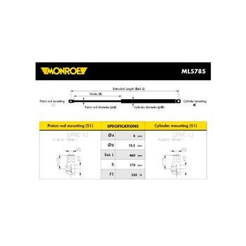 Juego de reparación, ajuste automático del embrague | MC 81694