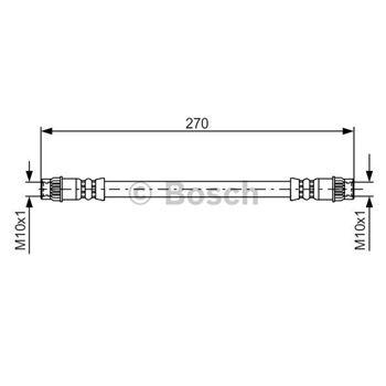 (BS469) Zapatas de freno BOSCH - 0986487202