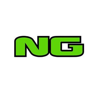 Casquillo de aluminio verde para disco de freno flotante NG